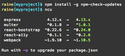 npm-check-updates-screenshot
