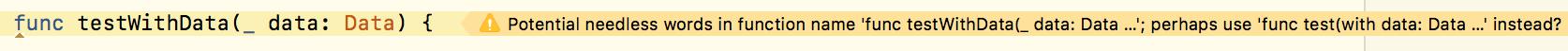 needless in Xcode