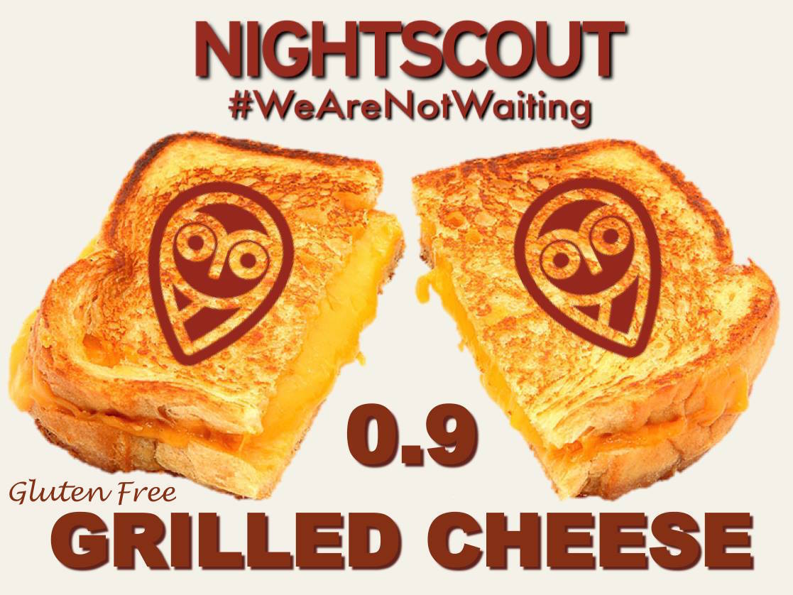 nightscout grilled cheese final