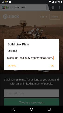 build-link-plain