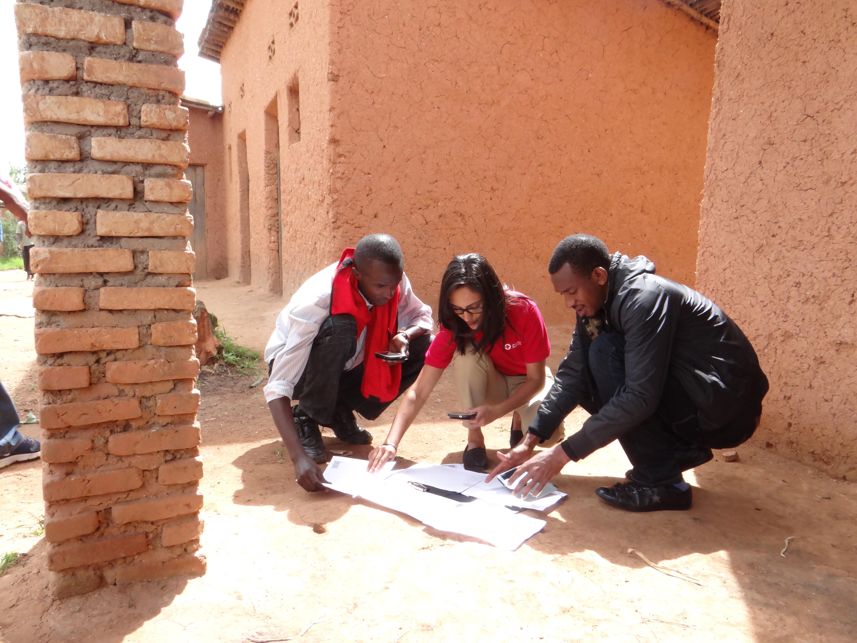 rwanda mapping