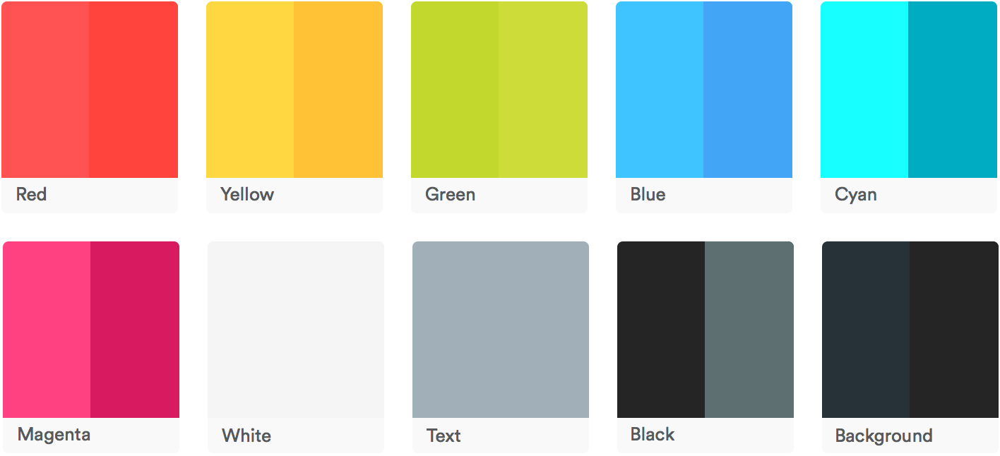 materialshell color palette