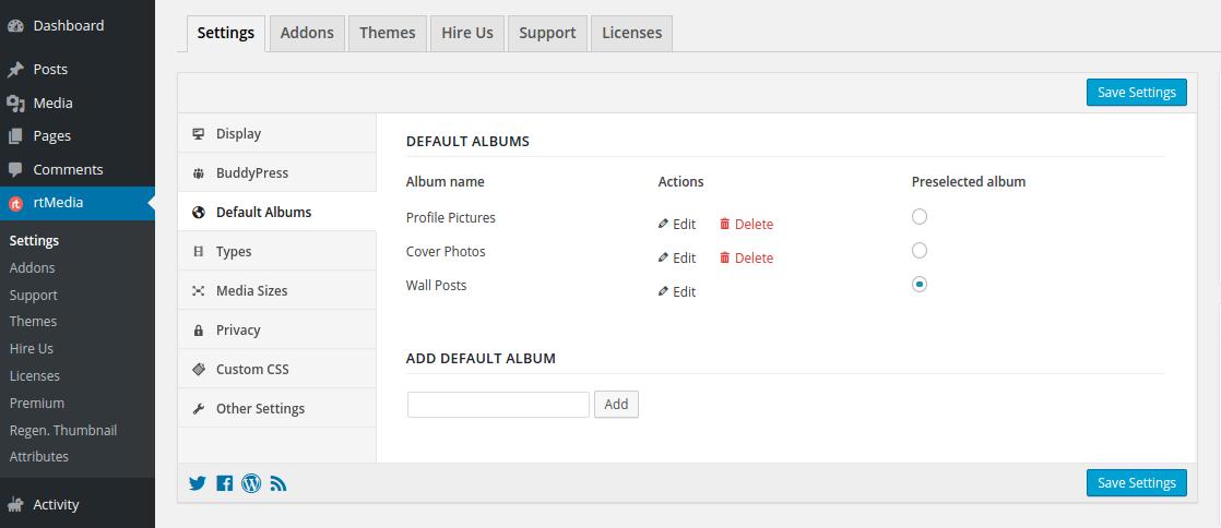 default-album-setting
