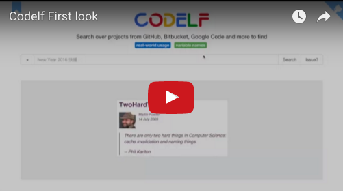 Codelf first look