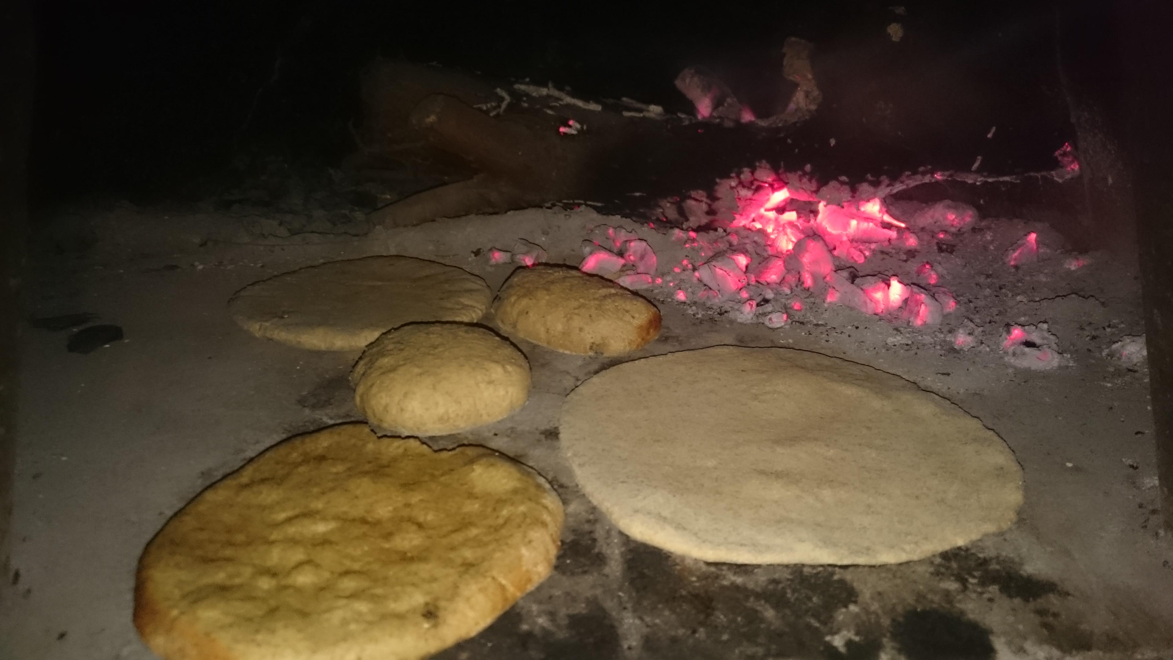cottura pane kebab
