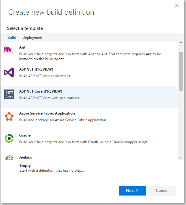 vsts-new-build-definition