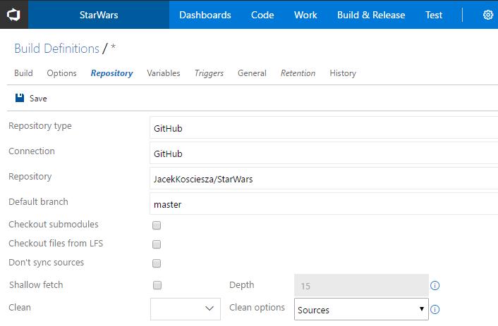 vsts-setup-repository