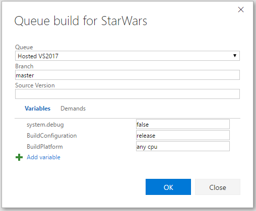 vsts-queue-build