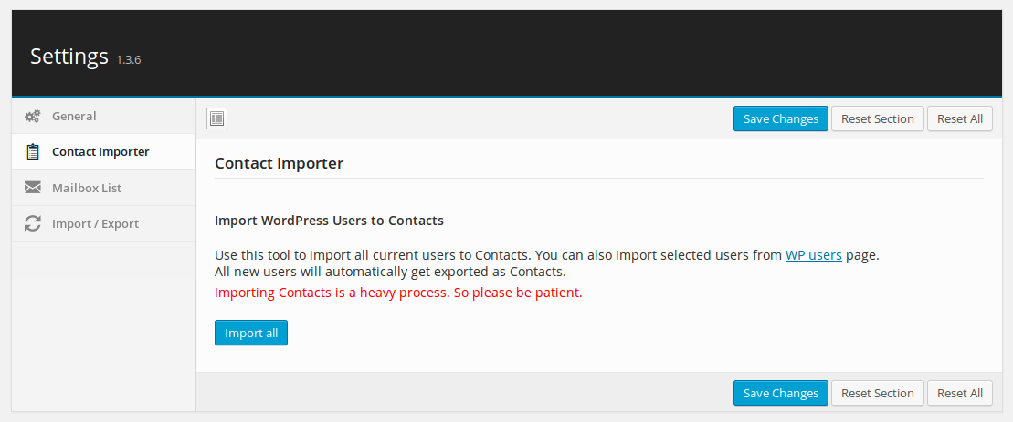 contact- importer