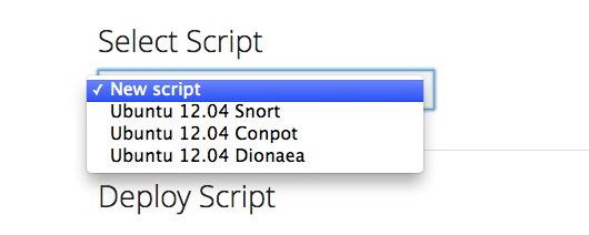 select-script