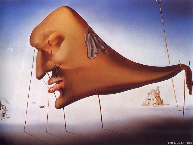 Salvador Dali, Sleep, 1937