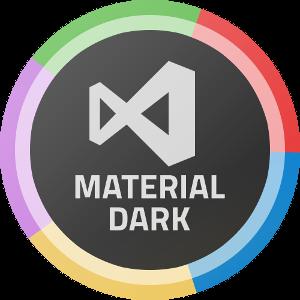 vscode-material-syntax-dark-logo-300