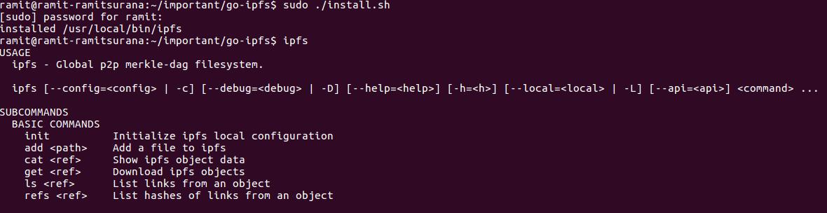 ipfs-install