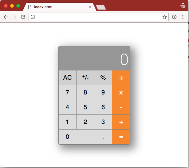calculator-in-browser