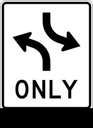 turn lanes both ways