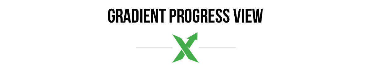 Gradient Progress View Logo