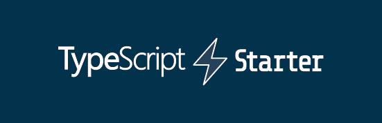 typescript-starter dark logo