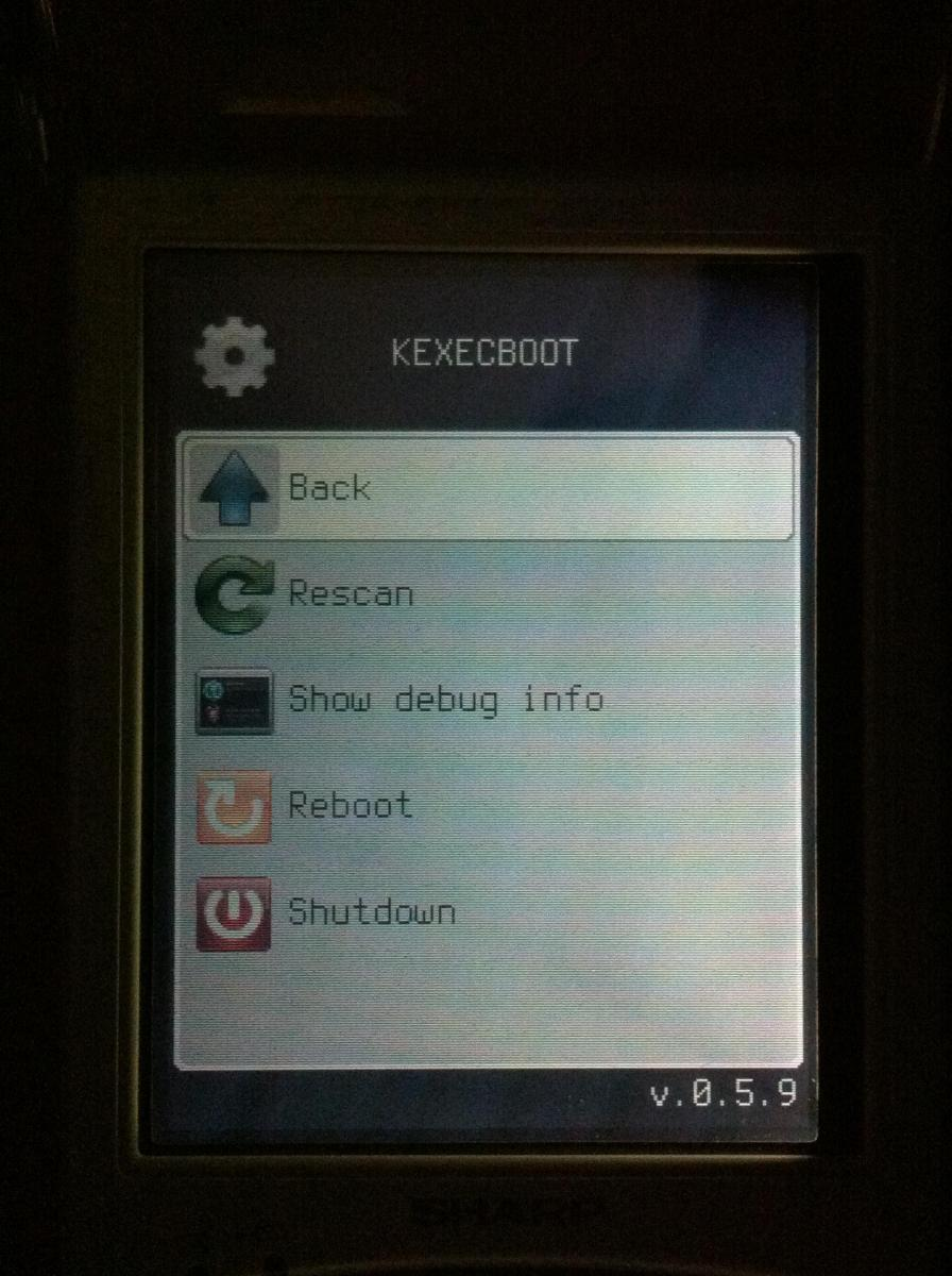 poodle - system menu