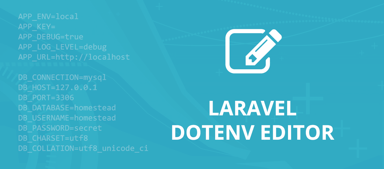 laravel-dotenv-editor