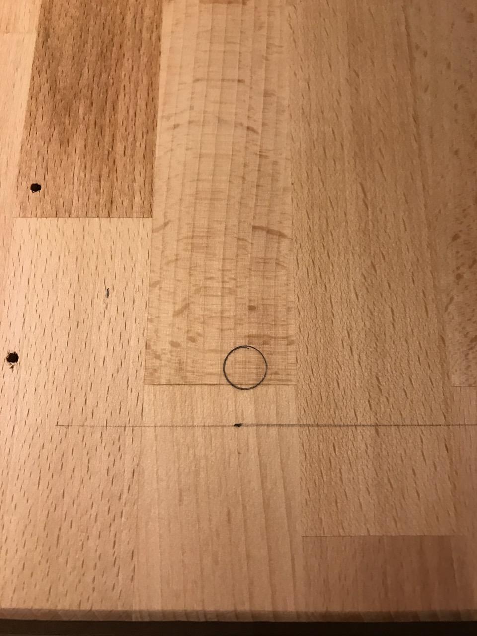 progress measurement, line, and drill hole