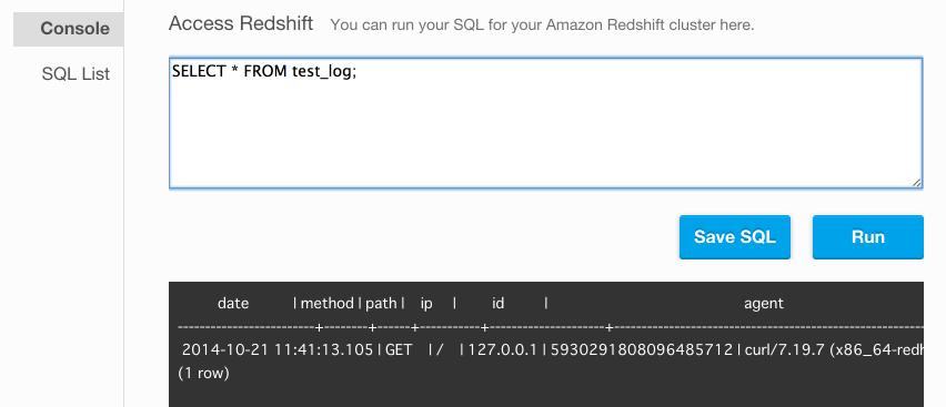 flydata access redshift 2014-10-21 20-45-44